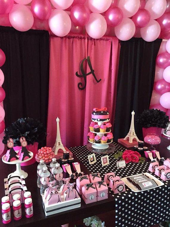 Paris Theme Party Paris Party Decoration Paris Birthday