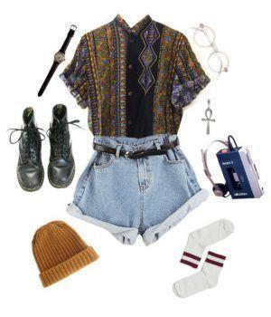 Grunge Kleidung: 30 coole und nervöse Grunge Outfits