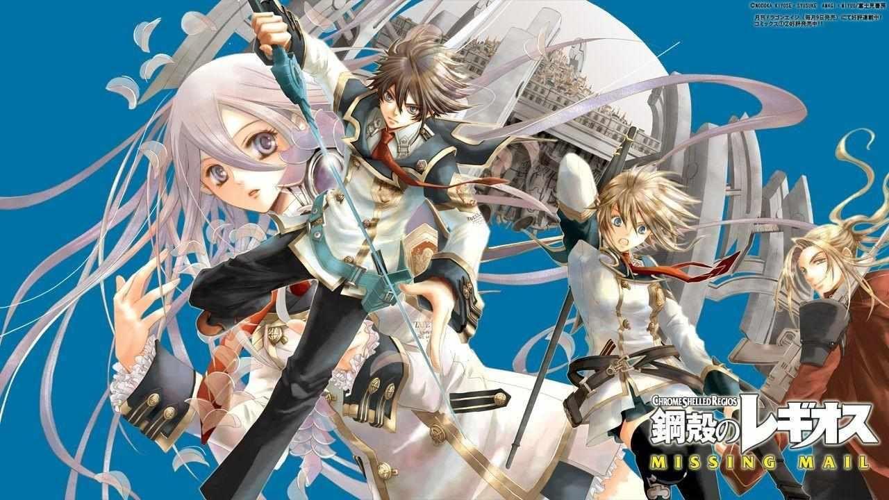 Download Anime Chrome Shelled Regios Subtitle Indonesia Batch Http Drivenime Com Chrome Shelled Regios Subtitle Indonesia Batch Animasi Musik Anime Seni