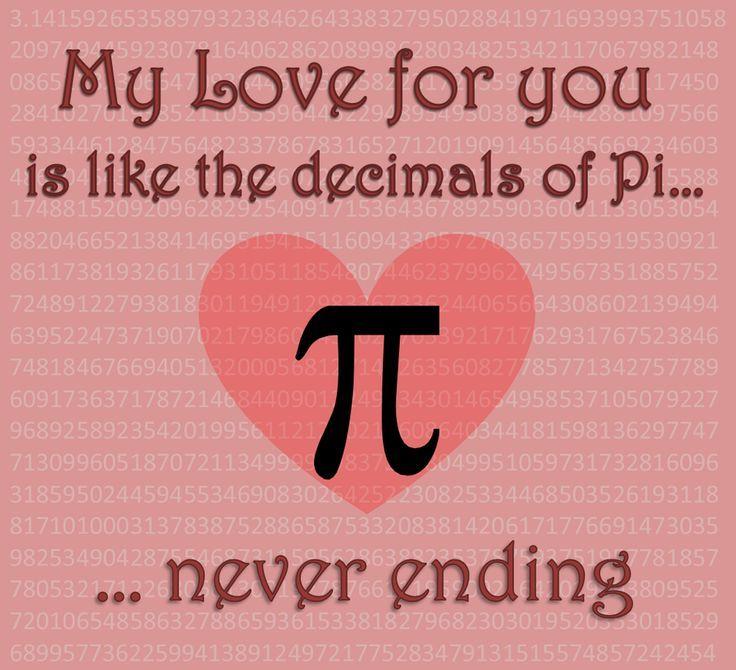 Nerd Love ♥ | Nerdy valentines, Math humor, Happy pi day