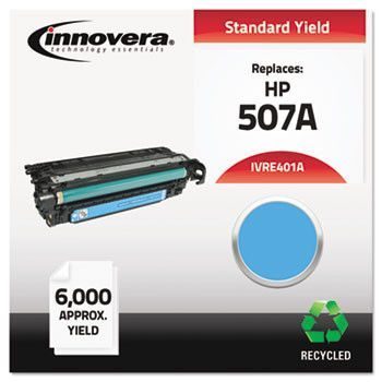 Remanufactured Ce401a (m551) Toner, 6000 Page-Yield, Cyan