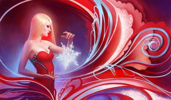 As mulheres nas ilustrações de fantasia de Viktoria Gavrilenko