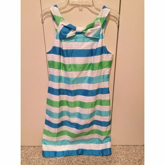 Lilly Pulitzer Henley Stripe Dress New with tags. Never worn Lilly Pulitzer Dresses