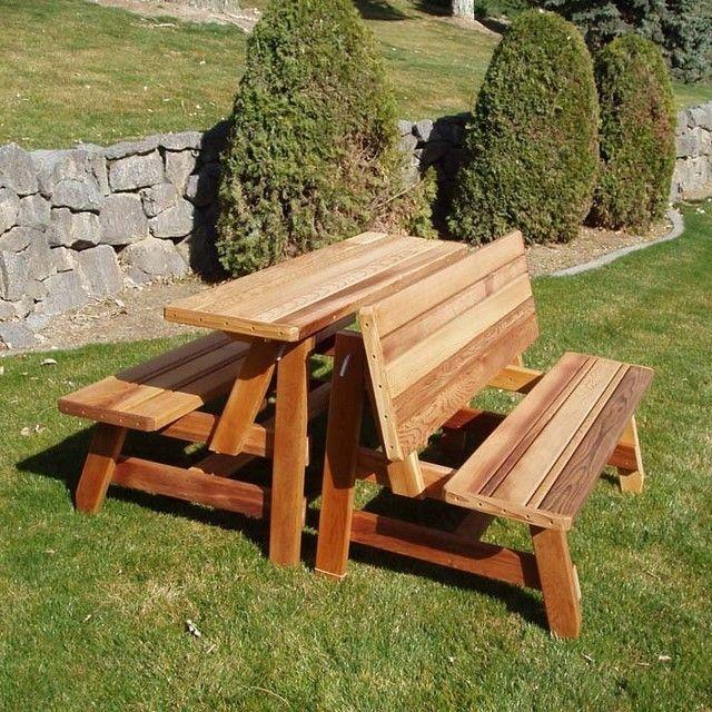 Unique Picnic Table Picnic Bench Design Kursi