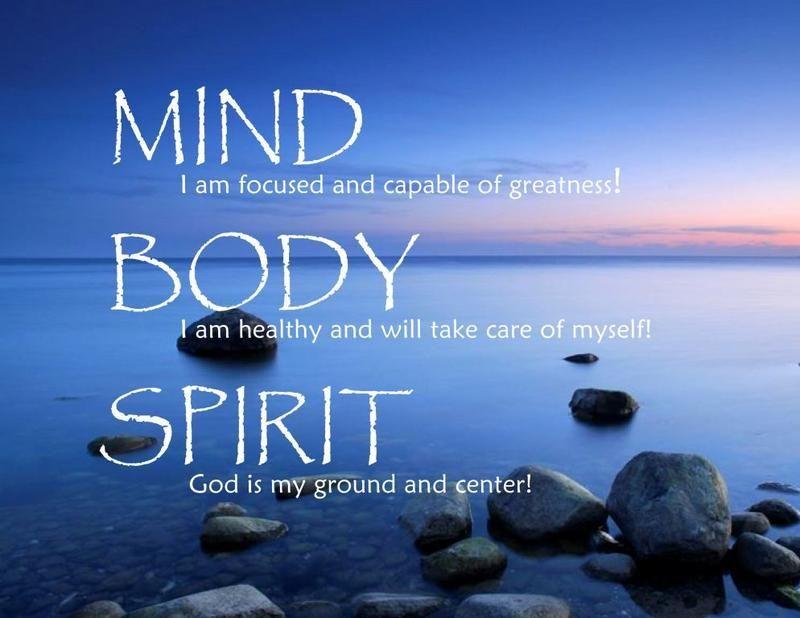 005 Getting Fit Mindfulness, Mind body spirit, Mind body soul