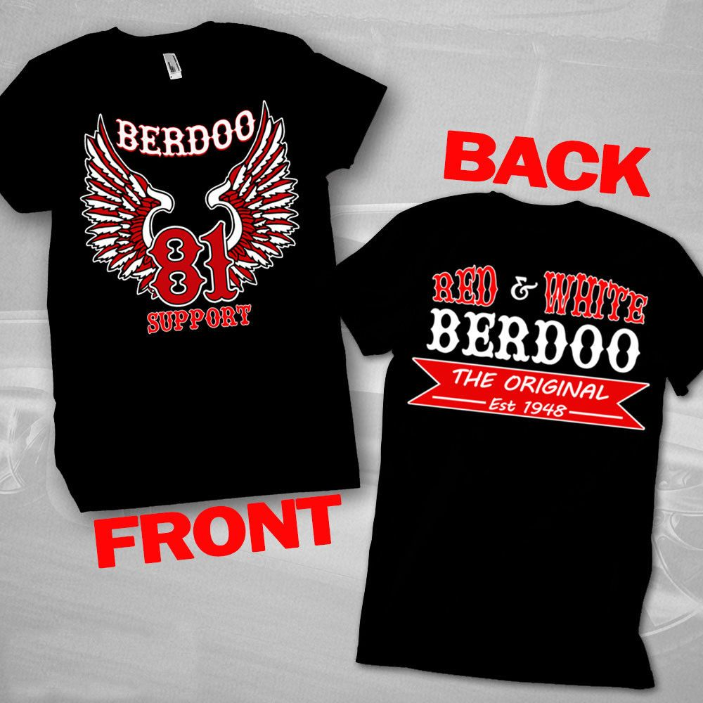 New Support 81 Berdoo Side T-shirt Support Hells Angels T