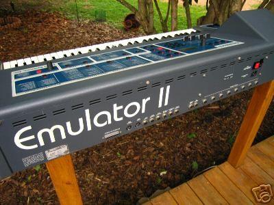 e mu emulator ii synth synthesizer music drum machine music bands. Black Bedroom Furniture Sets. Home Design Ideas