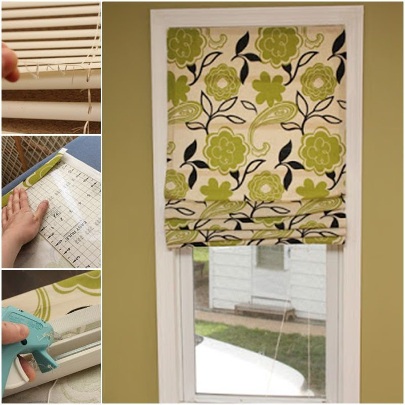 Easy diy no sew roman shades out of mini blinds mini blinds roman easy diy no sew roman shades out of mini blinds solutioingenieria Image collections