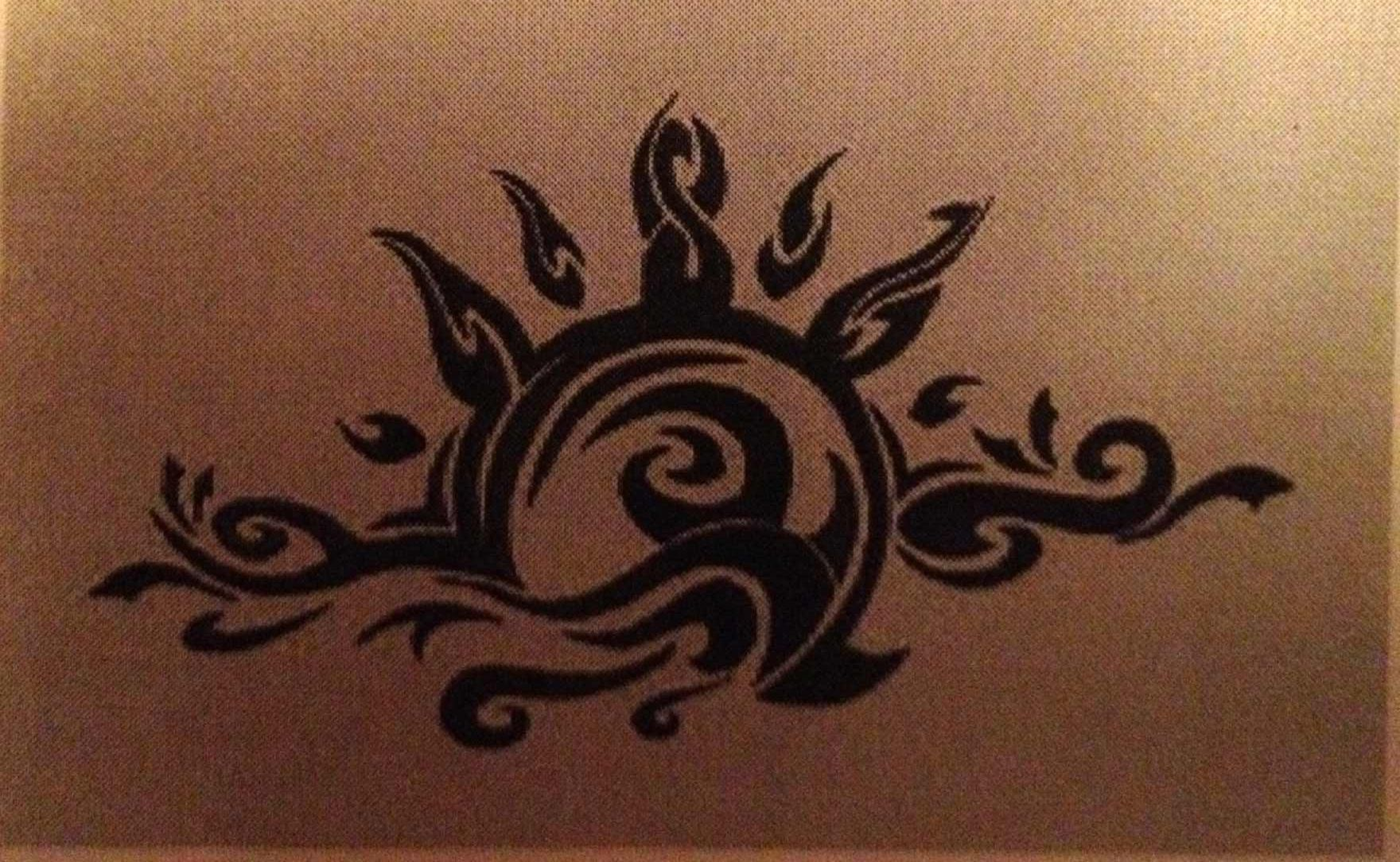 Sunrise tribal tattoo designs tribal sun - Tribal Sunrise Tattoo For My Dawn