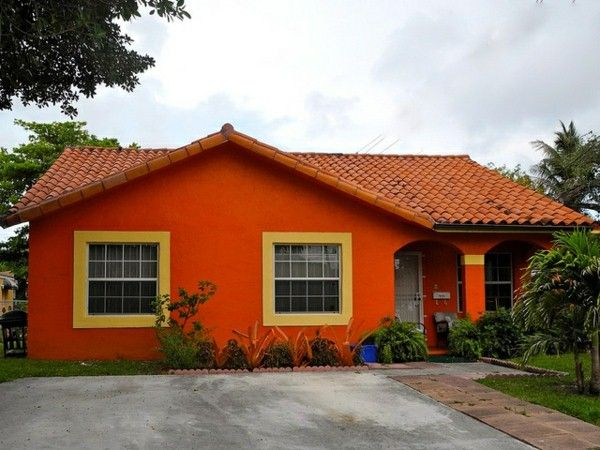 Orange House In Coconut Grove