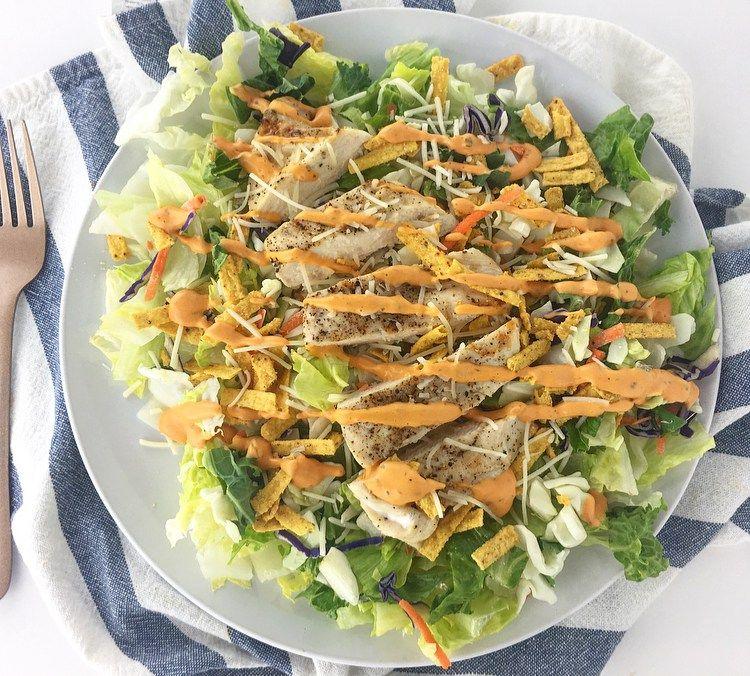 healthiest fast food salads 2021