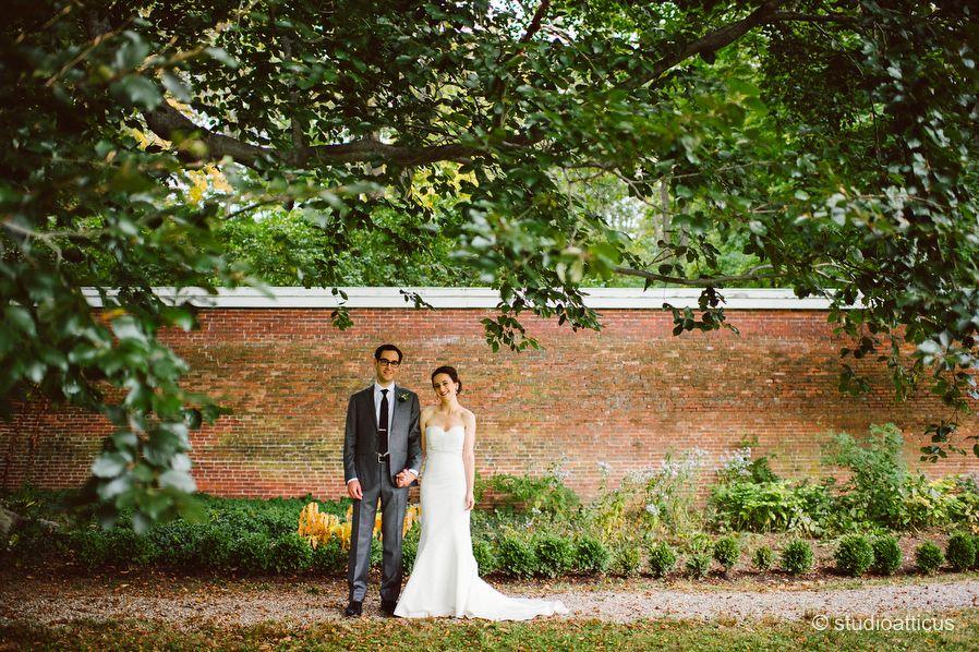 Miriam And Jonathans Wedding At The Lyman Estate In Waltham Massachusetts