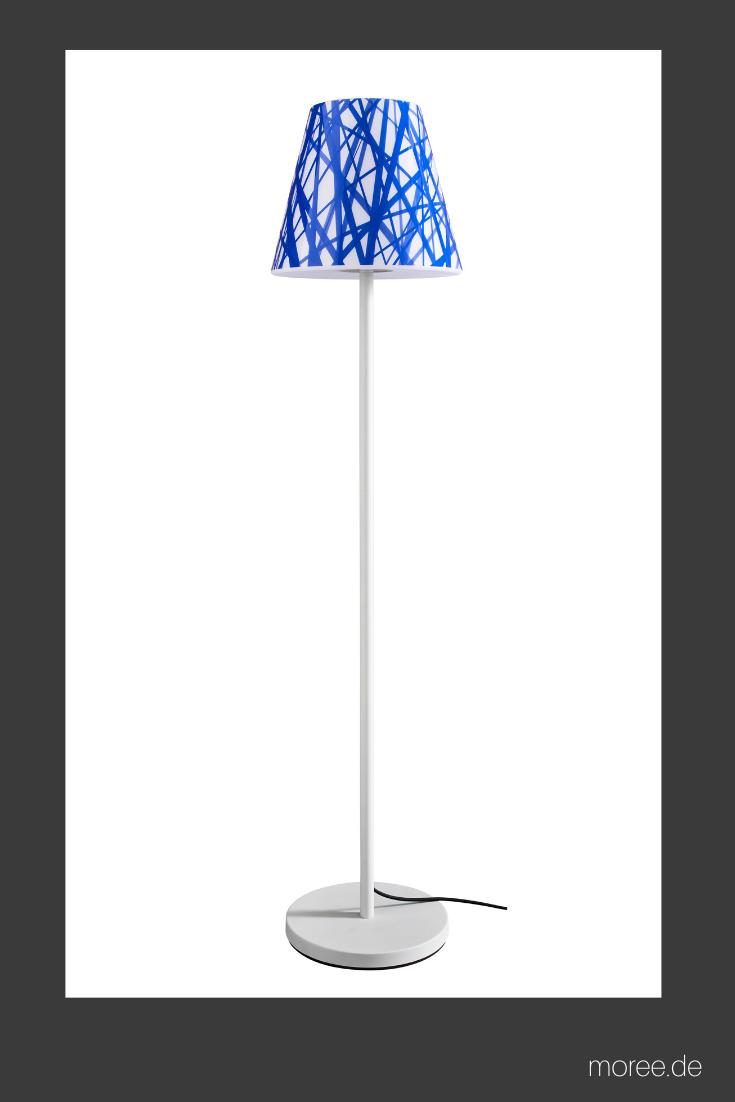 Stehleuchte Garten Swap Mit 7 Wechselbaren Design Cover Garten Stehlampe Lampenschirm Weiss Stehlampe