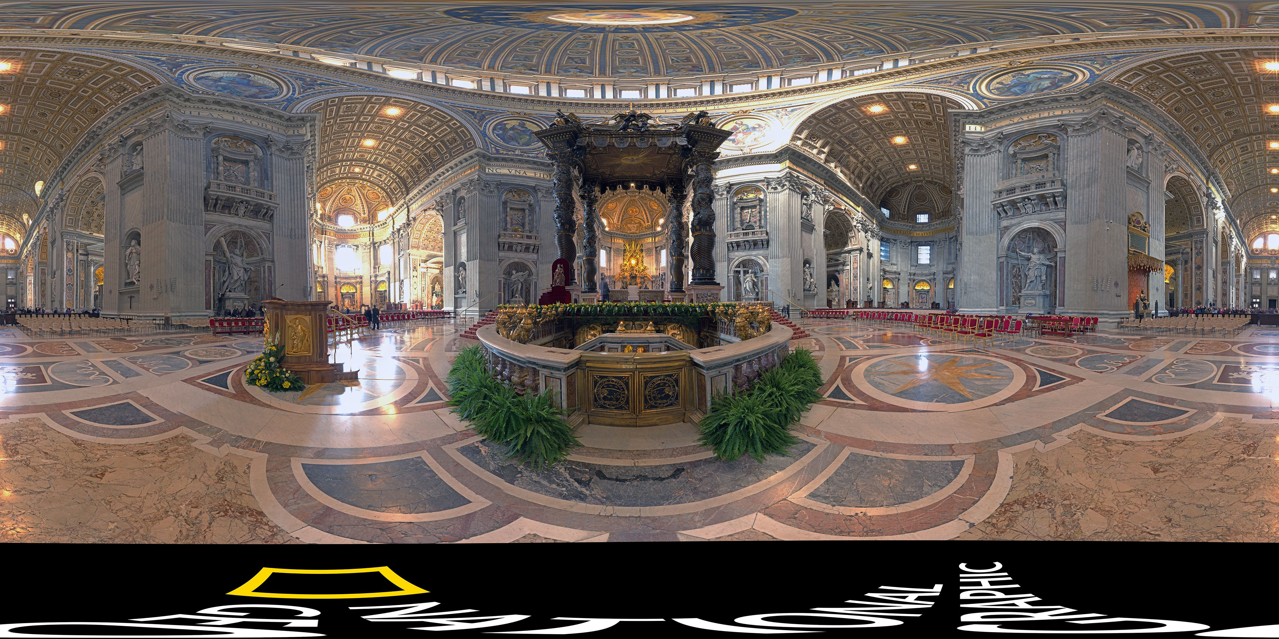 Take Amazing 360° Tour of St. Peter's in Vatican City From