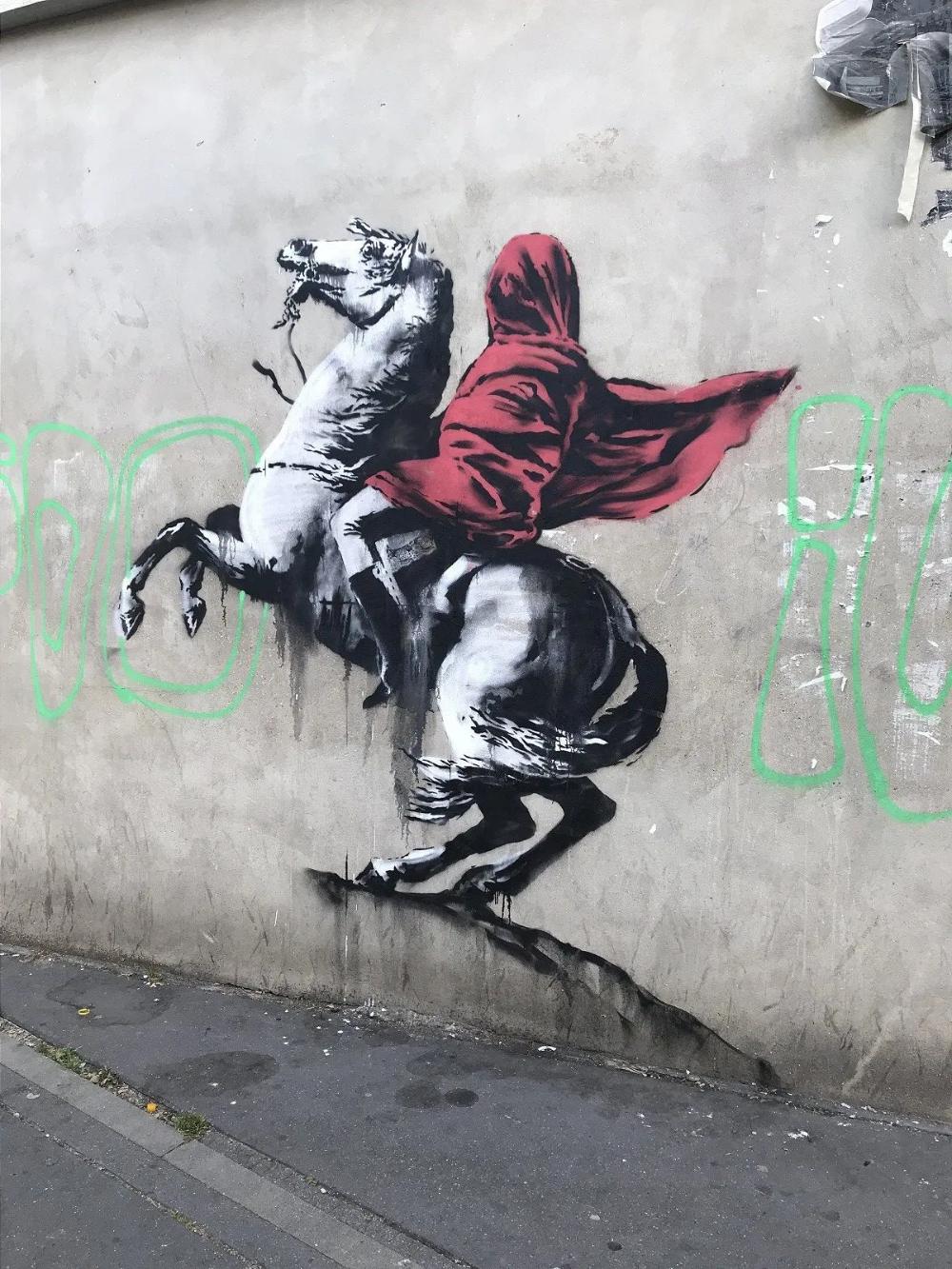 Banksy est de retour à Paris avec la découverte de 6