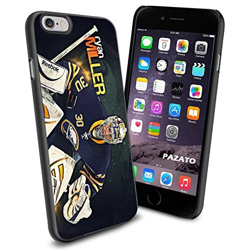 Hockey NHL Ryan Miller - Buffalo Sabres , Cool iPhone 6 Smartphone Case Cover Collector iphone TPU Rubber Case Black 9nayCover http://www.amazon.com/dp/B00UQLZPS0/ref=cm_sw_r_pi_dp_6-isvb1VG5V4P
