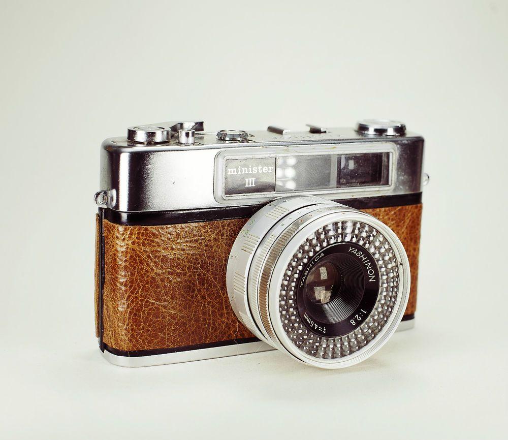 Yashica Minister III Vintage Rangefinder  Lightburn Film Camera / 45mm f2.8 Lens / £44.99