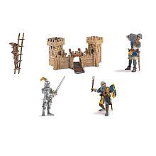 Schleich World of History: The World of Knights Collection - Castle with Knights Bonus Pack