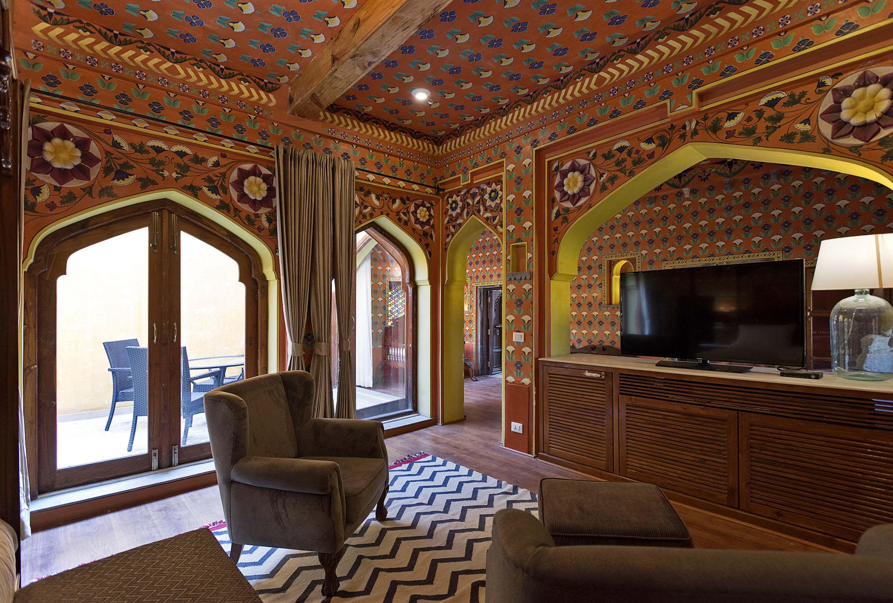 Raaj Tilak Suite at Gogunda Palace, Udaipur Palace hotel