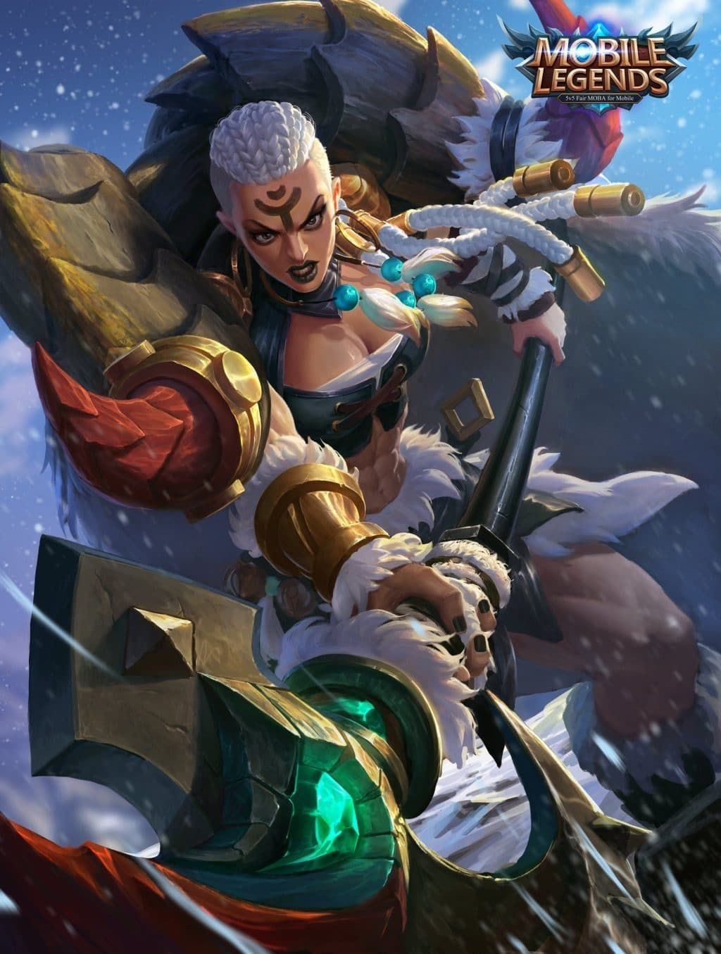 Wallpaper Mobile Legends Hilda Animasi Gambar Ilustrasi Karakter