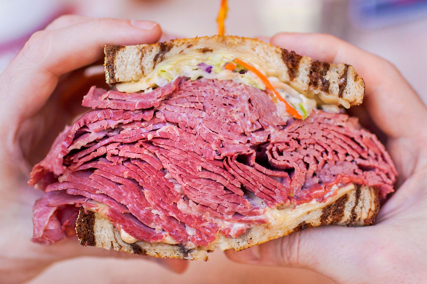 Another Mystery Deli Meat Event Food Corned Beef Reuben Photographing Food