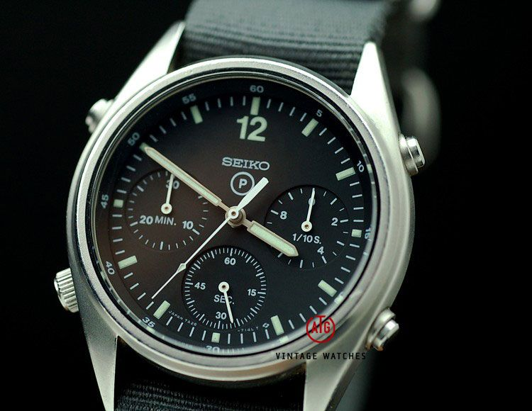 Chronograph Perfection : Seiko RAF 'Seiko Gen 1' : 7A28 ...