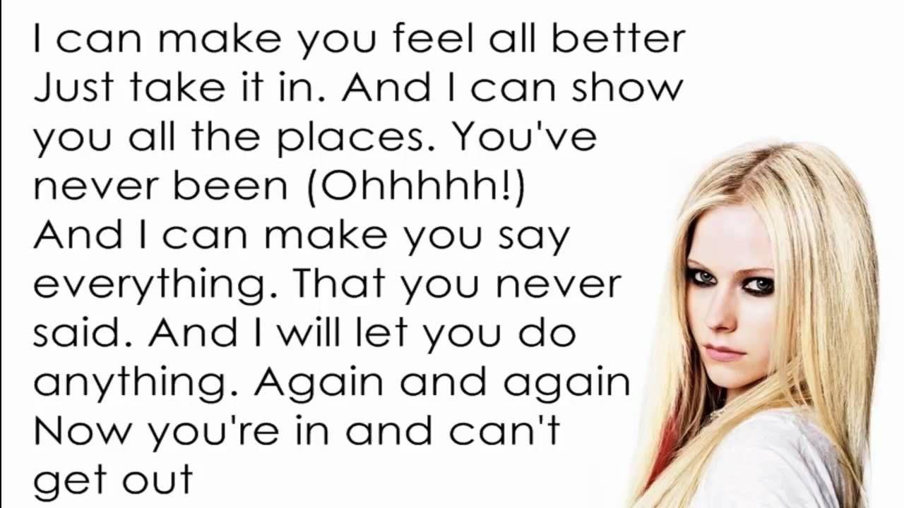 Avril Lavigne - Hot [Lyrics/Letra]