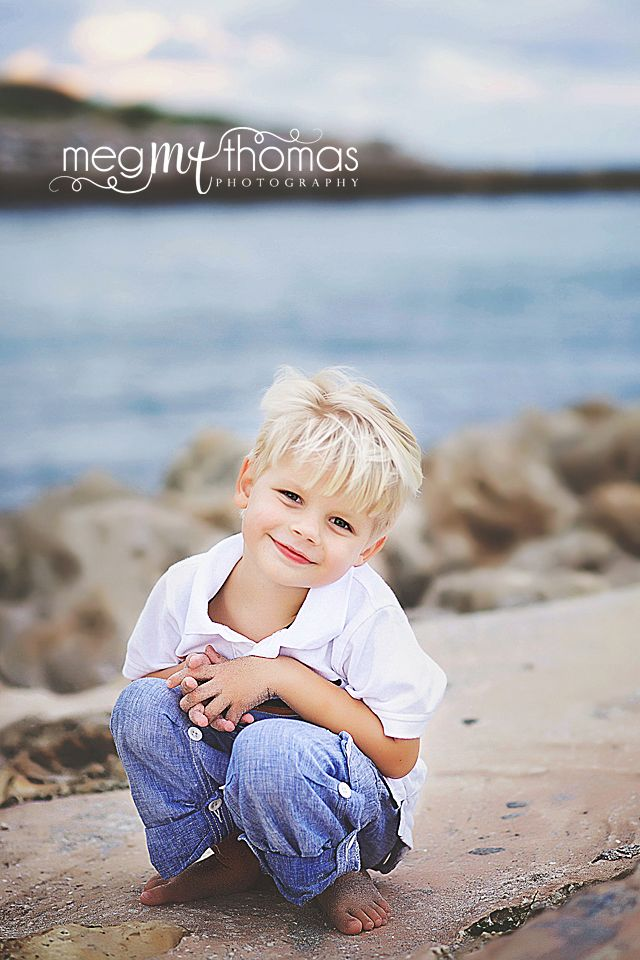 Little Boy Pose / Family Beach Session / Natural Light Photography