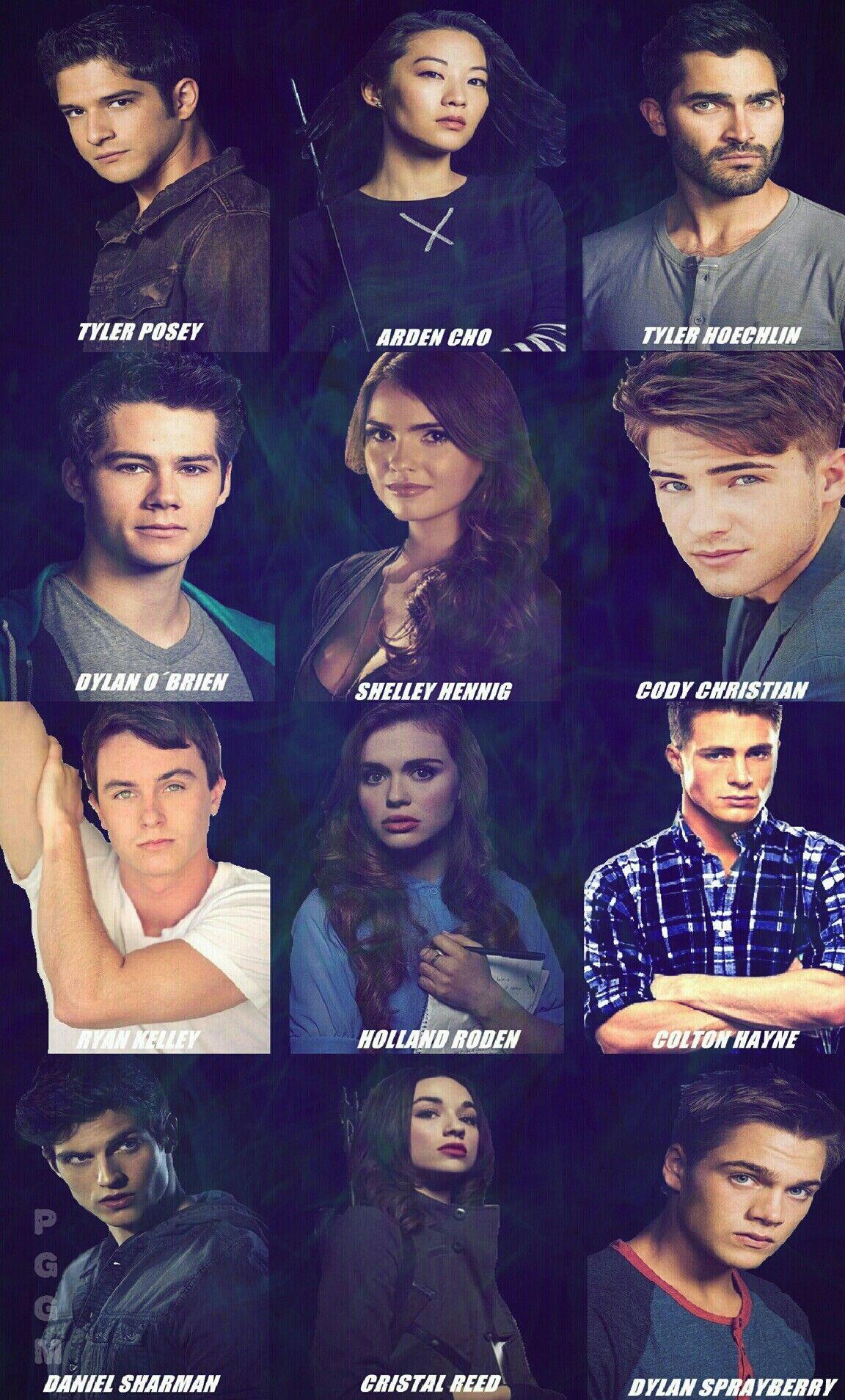 Teen Wolf Cast | TEEN WOLF by Paolo Giovanni | Pinterest | Lobos ...