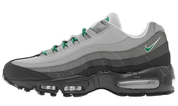 Nike Air Max 95 Anthracite Grey Green Sneakernews Com