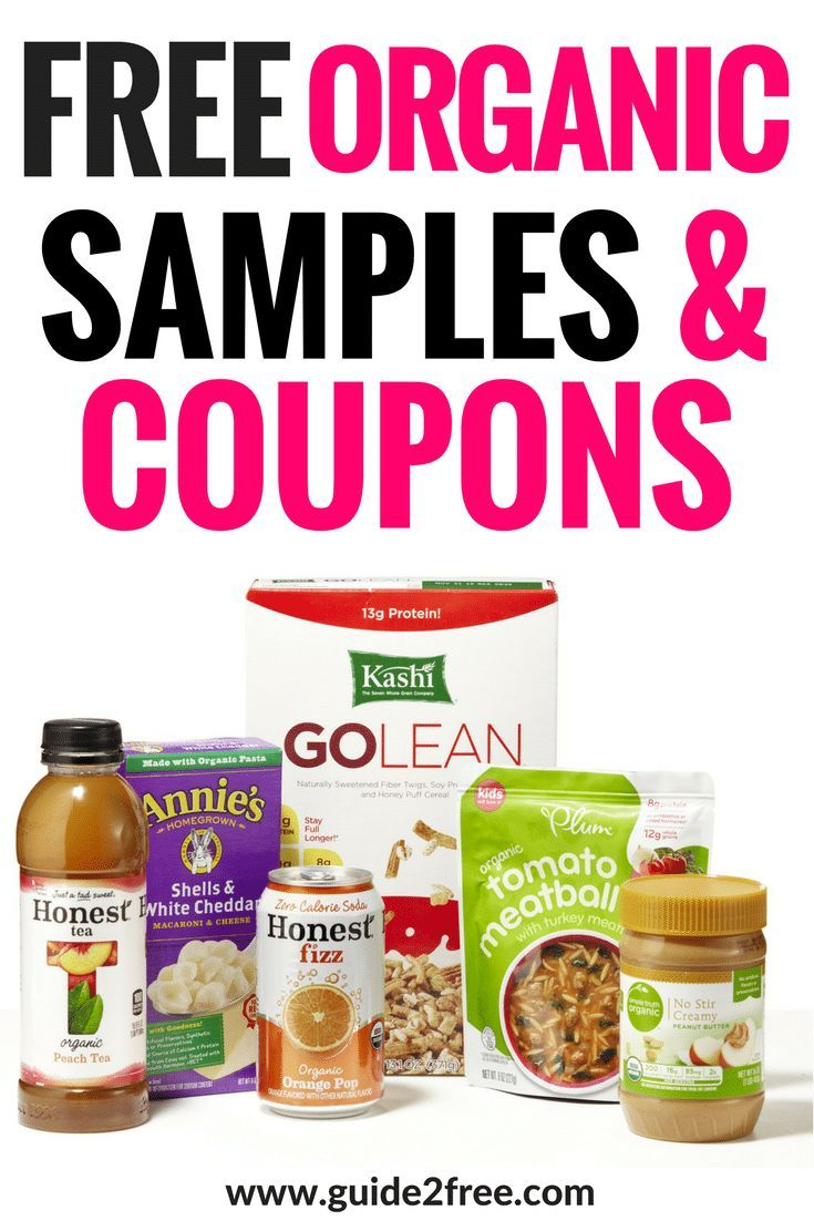 FREE Organic Samples and Coupons By Mail | Free stuff | Free