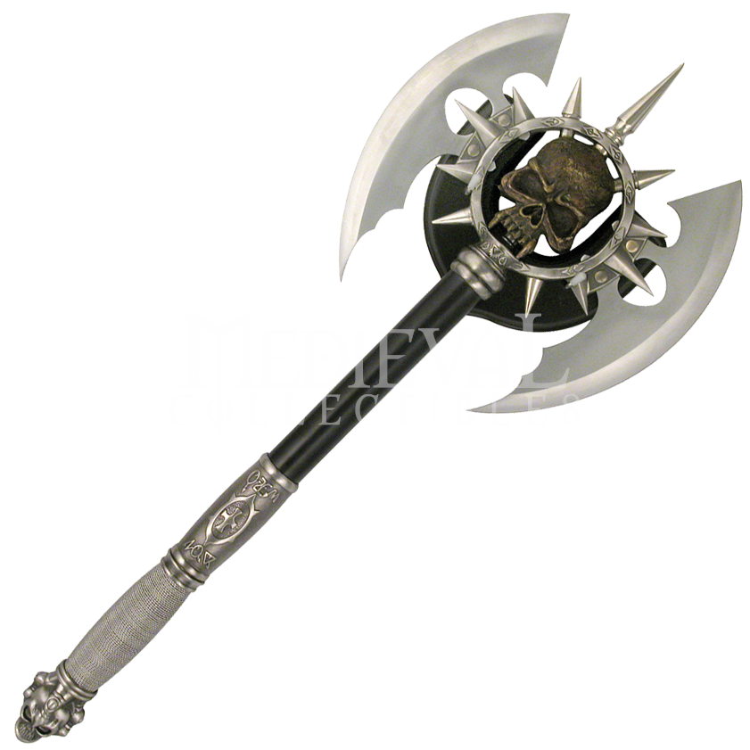 medieval double headed battle axe | Predator Battle Axe ...