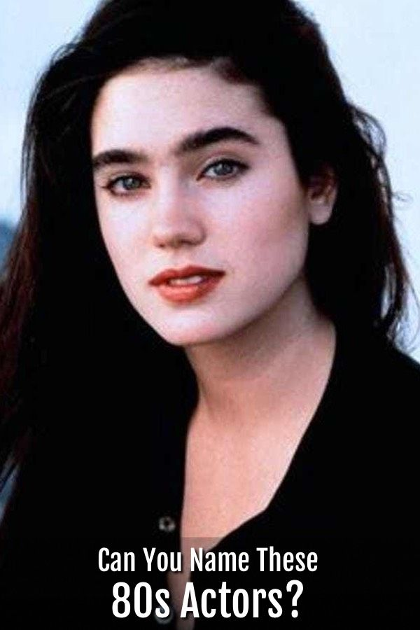 How Well Do You Really Know The 80s? | Jennifer connelly ...