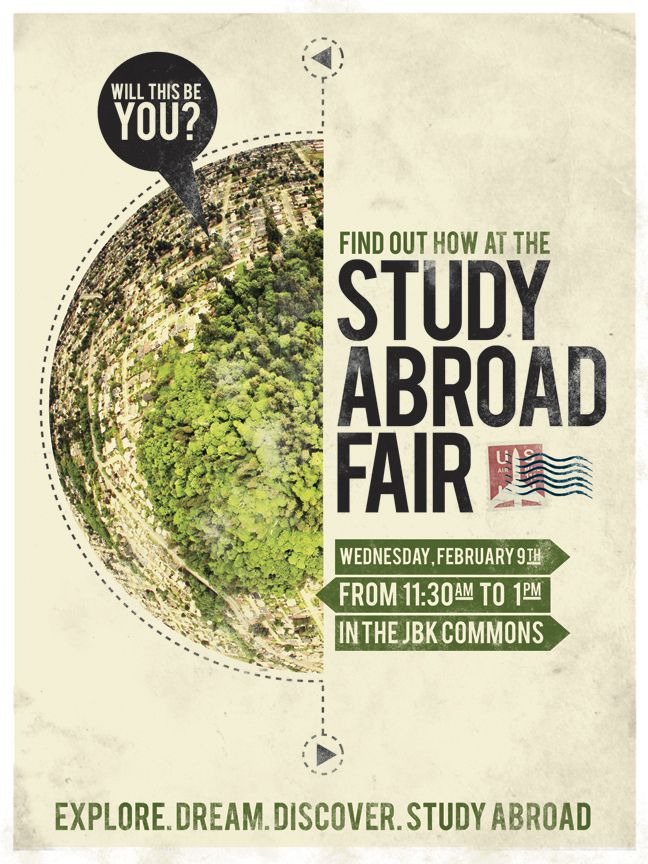 Study Abroad Fair – Wed. Sept. 18 – 9:00 am – 2:00 pm ...