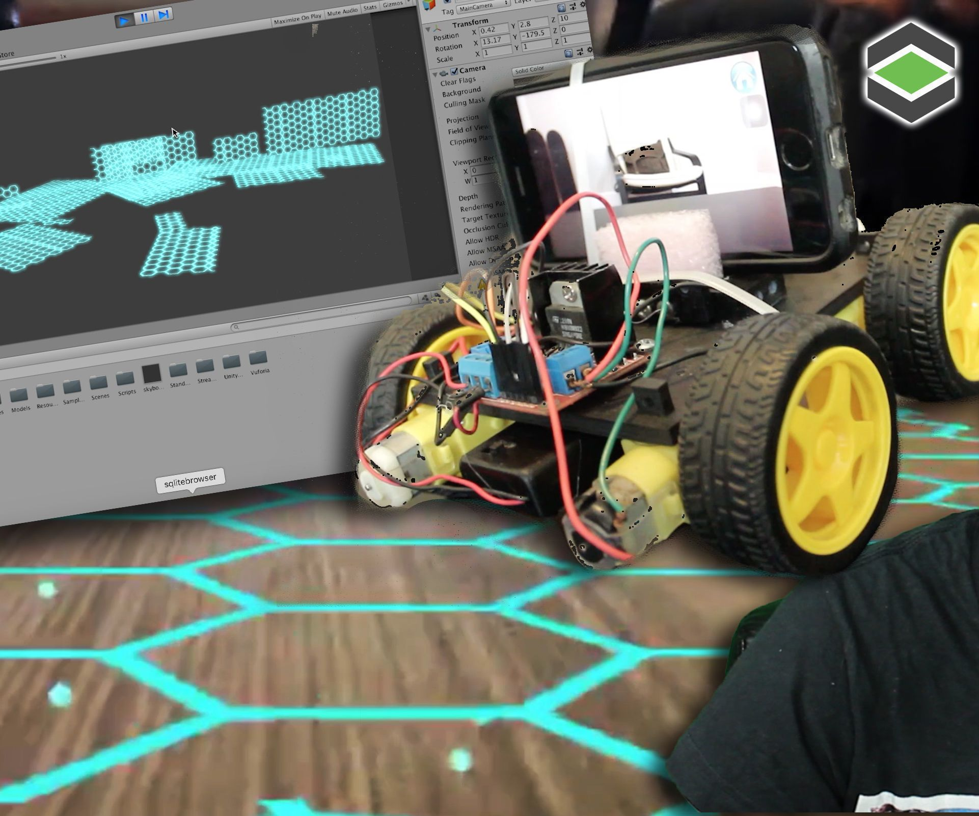 ROOM MAPPING Arduino Robot With Unity 3D   robot
