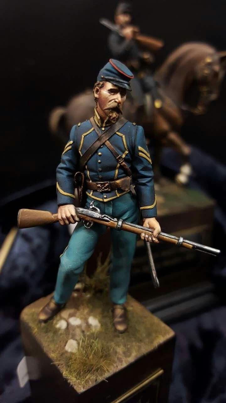 Pin By Evan On Us Civil War Scale Model Figure American Civil War Military Figures Ancient Warfare