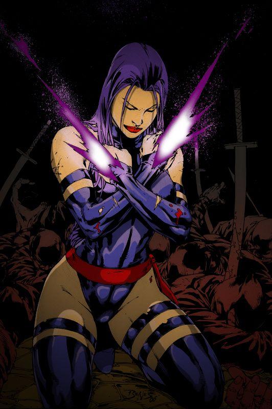 Psylocke Colored By Grimmjowjaggerjack52 On Deviantart Marvel Comics Art Psylocke Marvel Comic Universe