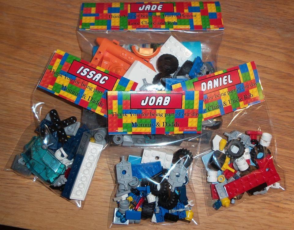Lego Wedding Favours