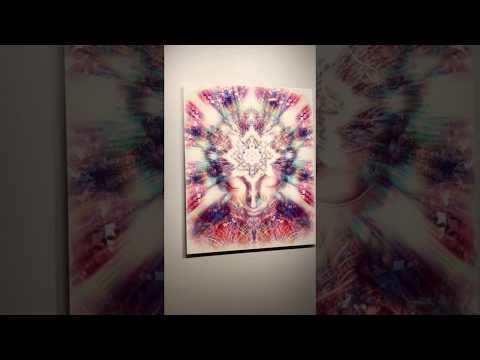 Zen Wall Art - Crystal Palace by Jalai Lama - Dye Infused Aluminium Print - Buddha Decor - YouTube #buddhadecor