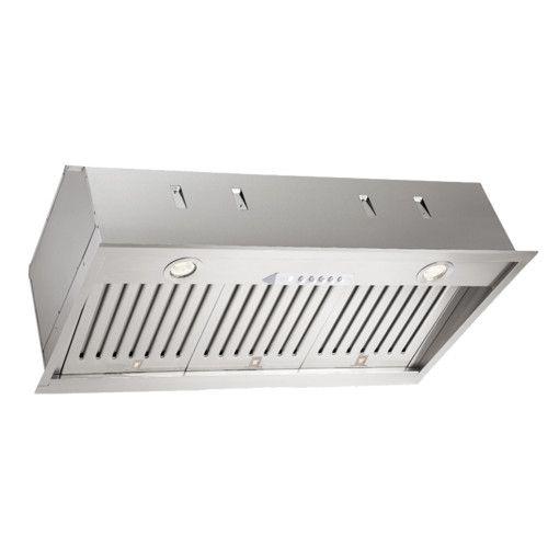 34 600 Cfm Convertible Insert Range Hood Range Hood Safe Cleaning Products Halogen Lighting