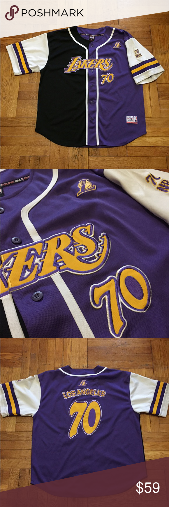 Vintage Lakers Baseball Jersey 3x 3xl Shirts Baseball Jerseys Clothes Design
