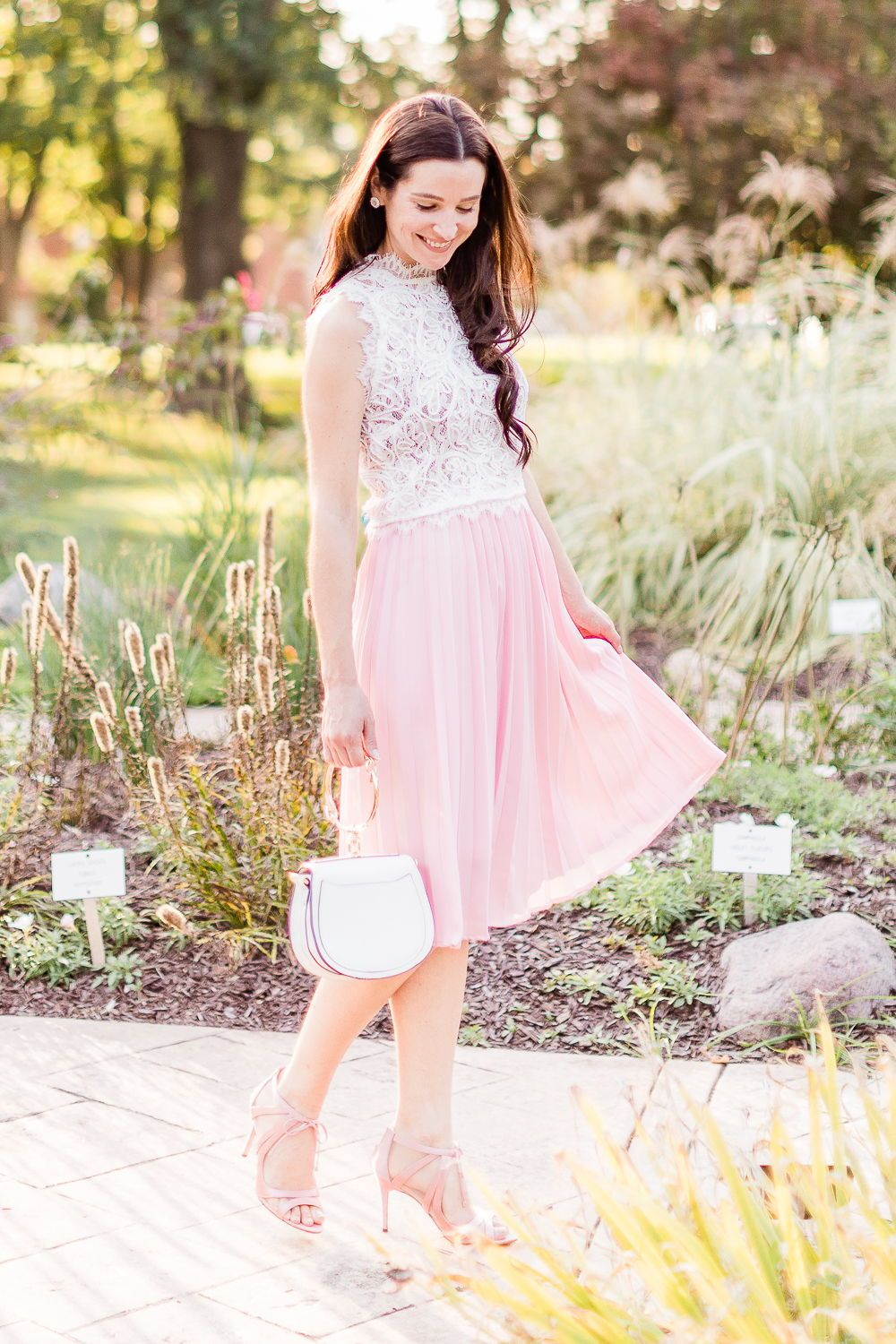 Day to Night: How to Wear a Pink Midi Skirt in the Fall