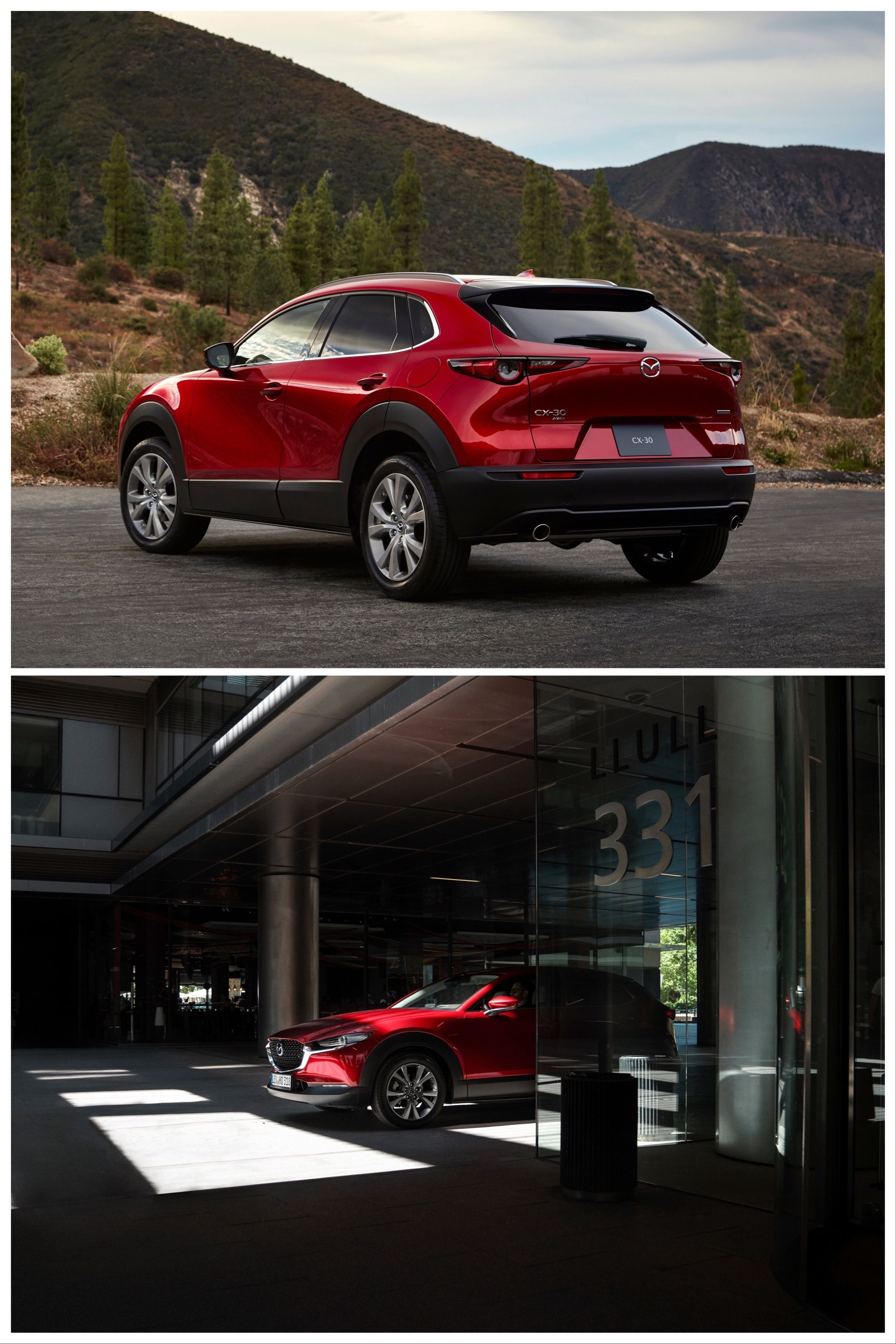 2020 Mazda Cx 30 Stylishly Bisects Cx 3 Cx 5 With Images Mazda Compact Crossover Crossover Suv