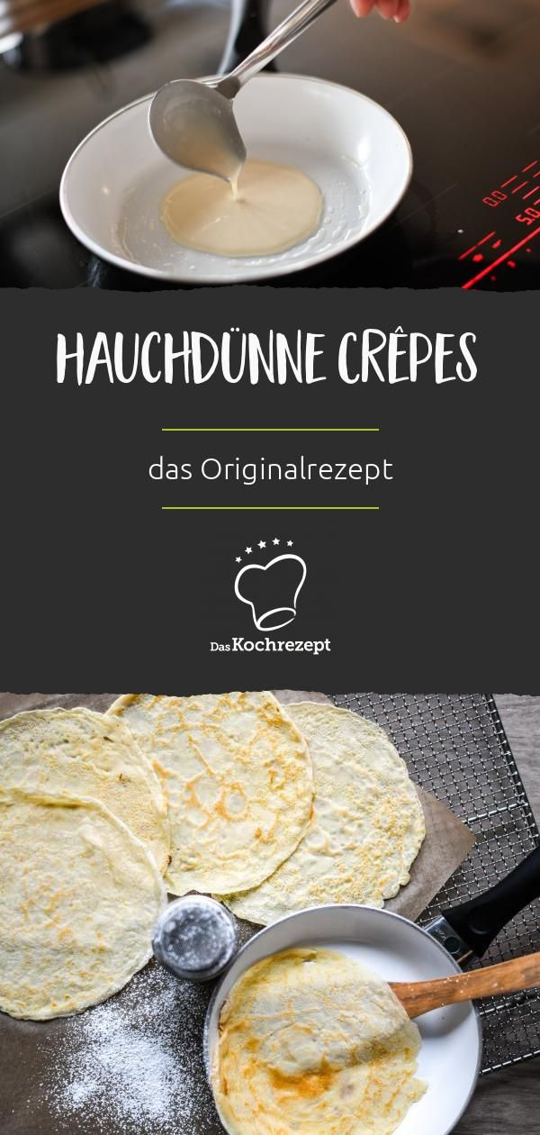 Photo of Sheer crepes: this is how you make them at home