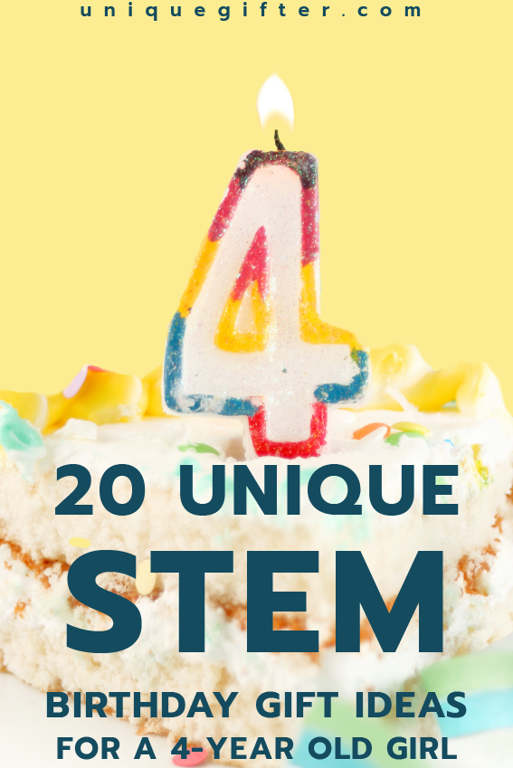 20 STEM Birthday Gift Ideas For A 4 Year Old Girl