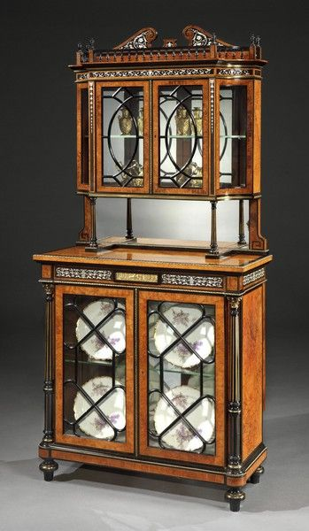 english antique display cabinet. A Very Fine Antique Display Cabinet In The Manner Of Jackson \u0026 Graham ( England) English N
