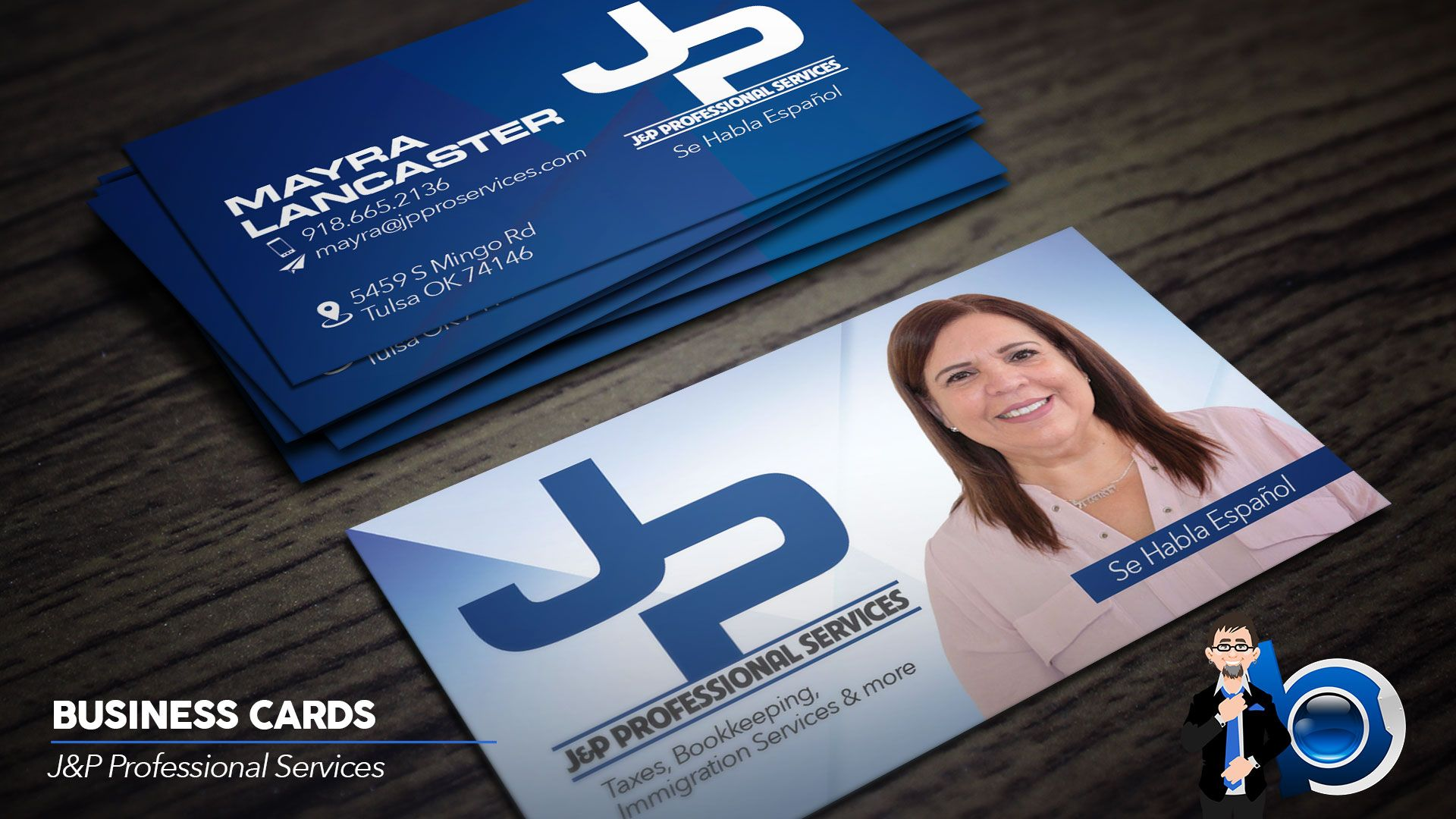 Carte De Visite Business Card For JP Professional Services Design Cards Designs