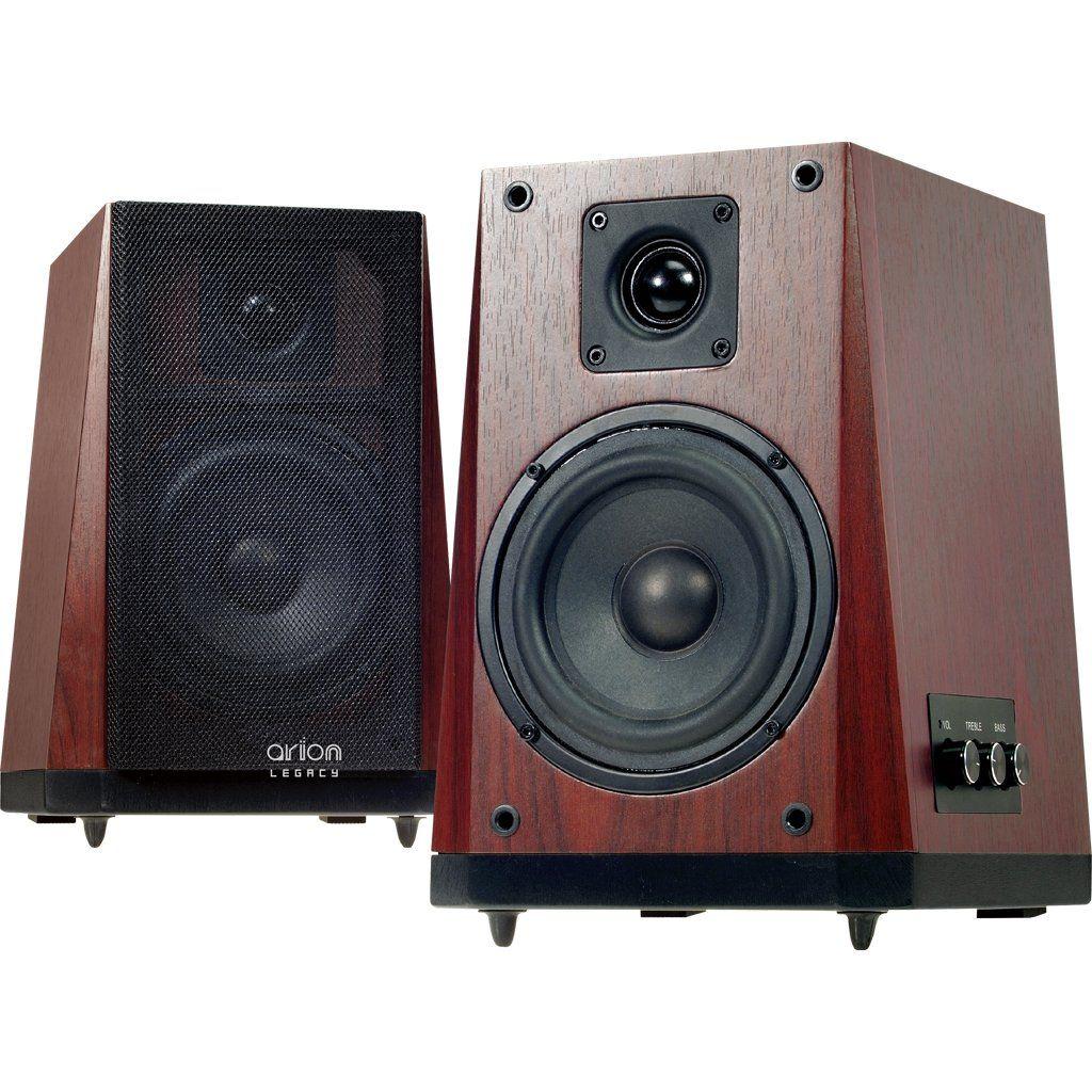 Best Bedroom Speaker System: Arion Legacy AR604H-BR Large 5-Inch High Power Studio
