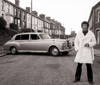 Tom Jones & his 1960 Rolls Royce Phantom