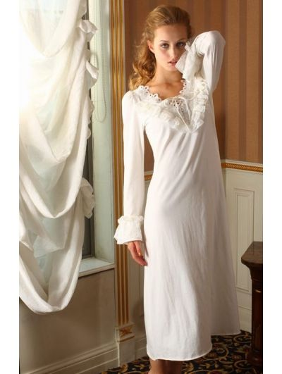 Long Sleeves Simple Medieval Chemise Dress - Devilnight.co.uk  f14fa01a7